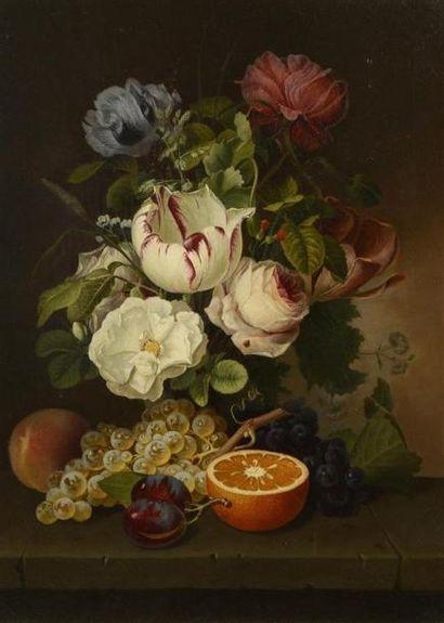 Hendrik REEKERS (1815-1854) Nature morte...