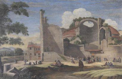 Attribuée à Jacob VAN DER ULFF (1625-1689)...