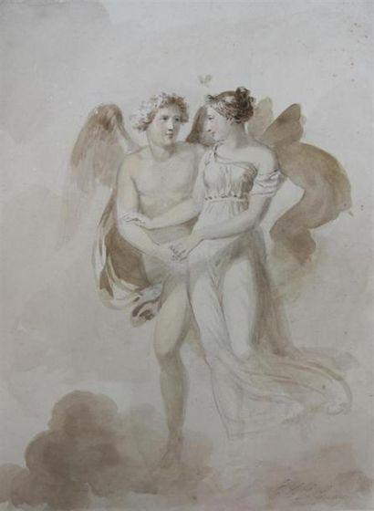 Etienne Charles LE GUAY (1762-1846) Deux...
