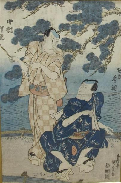 UTAGAWA Kunisada, dit Toyokuni III (1786-1865)...