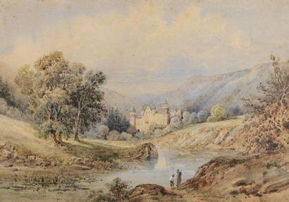 Francois Jules COLLIGNON (- 1850) Torrent...