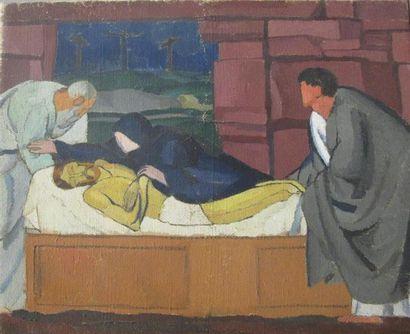 Louis BILLOTEY (1883-1940) Etude pour la...