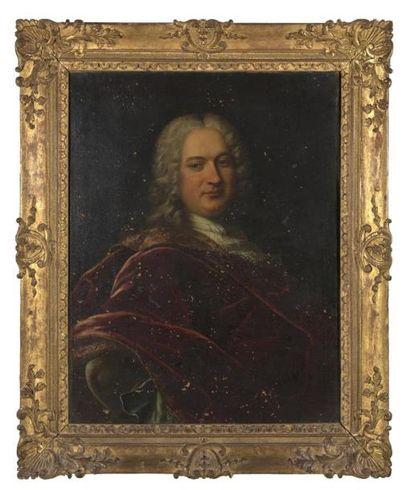 Ecole française du XVIIIème siècle Portrait...