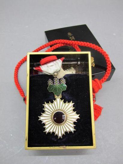 JAPON- Epoque MEIJI (1868 - 1912) Médaille...