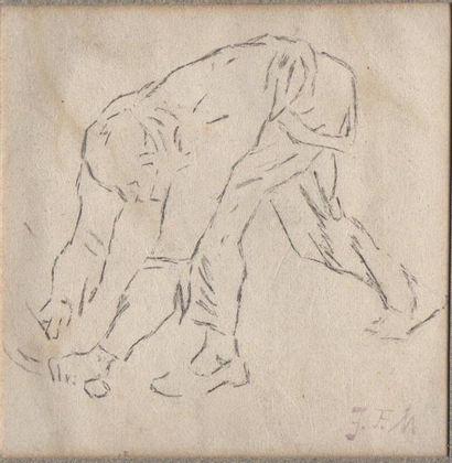 Jean-François MILLET (1814-1875) Le faucheur....