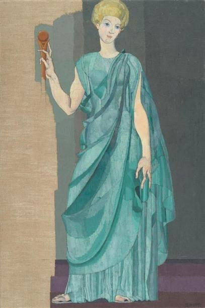 Louis BILLOTEY (1883-1940) Stratonice, étude...