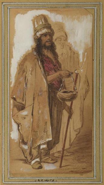 John Frederick LEWIS (1805-1876) Portrait...