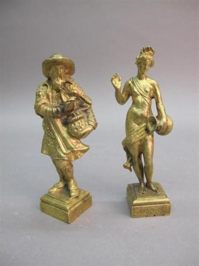 Travail du XVIIIème siècle Inmerno et Accqua...