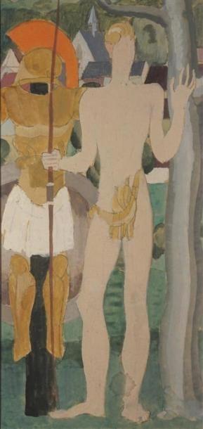 Louis BILLOTEY (1883-1940) Saint Sébastien...