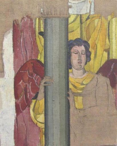 Louis BILLOTEY (1883-1940) Etude de l'Ange...