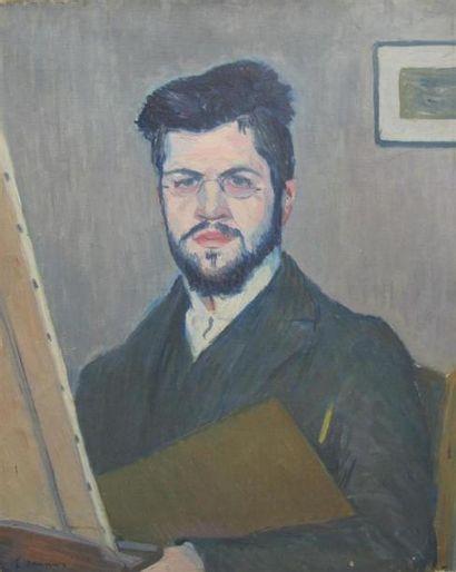 E SAUNIER. Ecole française début XXème siècle....