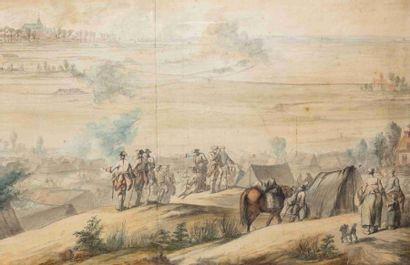 Charles COZETTE (1713-1797). Peintre de la...
