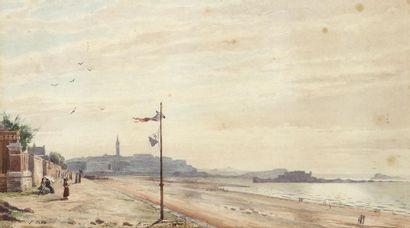 GOUTTEPAGNON, école française du XIXe siècle...
