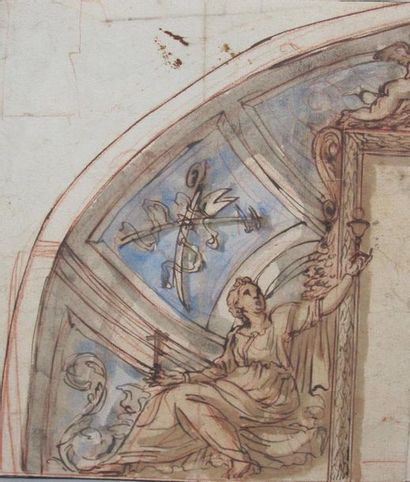 Ecole italienne du début du XVIIIe siècle...