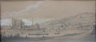 G. LENOIR, école française du XIXe siècle...