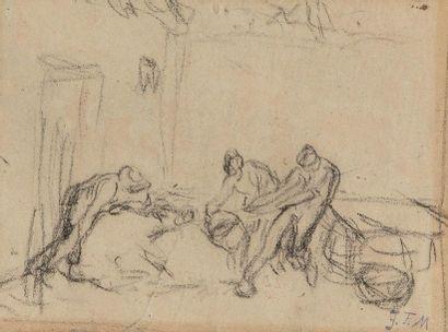 Jean-François MILLET (1814-1875) On tue le...