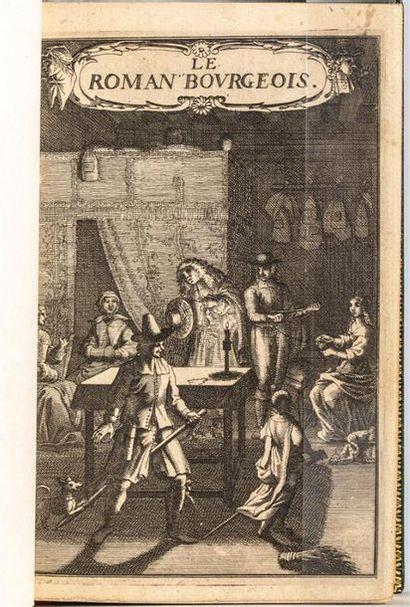 Antoine FURETIERE. Le Roman bourgeois. Ouvrage...