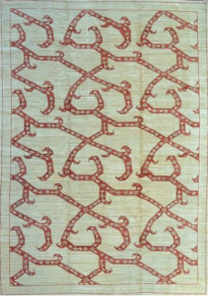 Original et important tapis Moderne Contemporain...