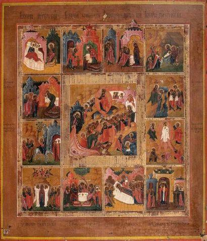 Les Douze Grandes Fêtes de l'Année Liturgique....