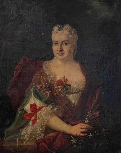 Jean-Baptiste OUDRY (1686-1755) Portrait...