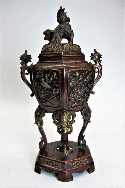 CHINE DU SUD ou VIETNAM vers 1900 Brûle-parfum...