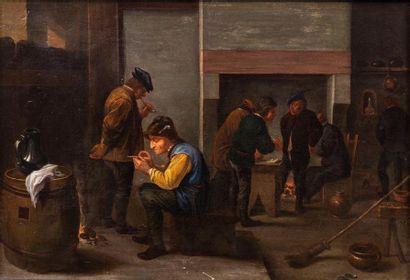 École flamande du milieu du XVIIe siècle,...