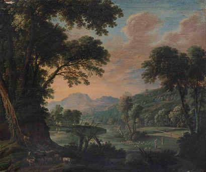 Attribué à Herman van SWANEVELT (v.1600-1655)...