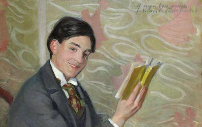 Claudio CASTELUCHO DIANA (1870-1927) Portrait...