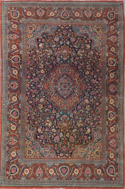 Ancien et fin KACHAN DABIR (Iran) début XXe...
