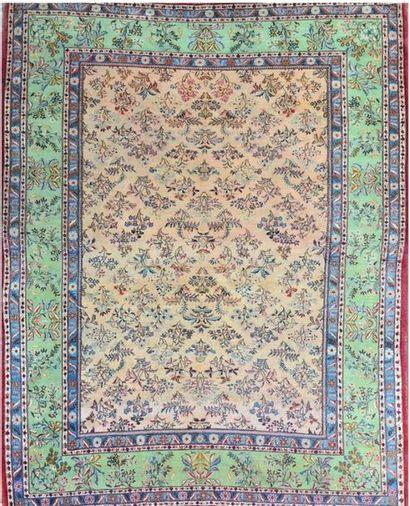 Original et grand KACHAN (Iran) milieu XXe...