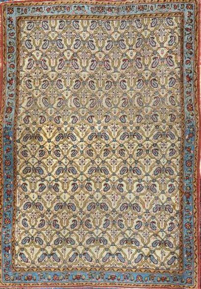 GHOUM (Iran) vers 1965. Velours en laine...