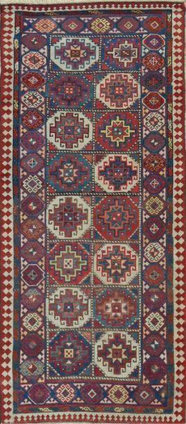 KAZAK Mogham (Caucase) fin XIXe Velours en...
