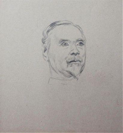 EDOUARD DETAILLE (1848-1912) Dix portraits...