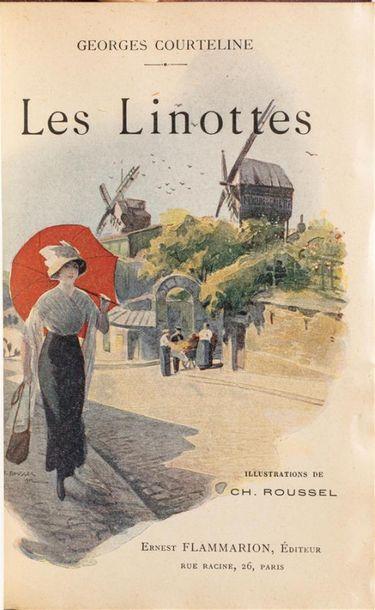 Georges COURTELINE. Les Linottes. Paris,...