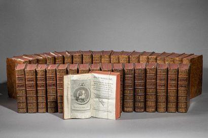 Denis DIDEROT et d'ALEMBERT. Encyclopédie,...
