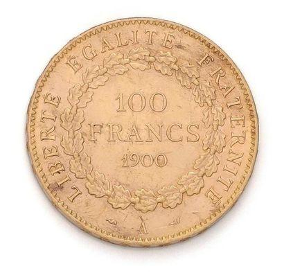 IIIème République (1870-1940). 100 francs...