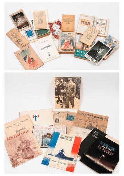 Documentation :  - Lot d'ouvrages brochés...