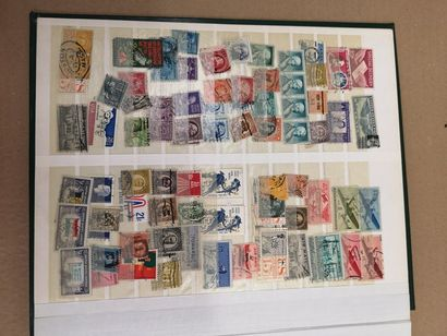 Album de timbres-poste du XXème siècle.  AFRIQUE...