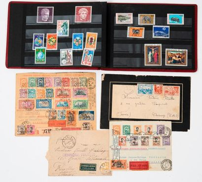 Petit album de timbres de la République du...