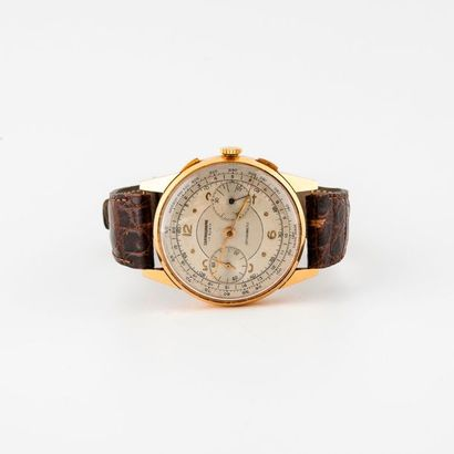 Montre bracelet d'homme, formant chronographe....