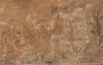 Entourage de Charles PARROCEL (1688-1752)