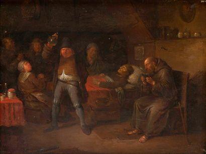 Attribué à Egbert van HEEMSKERCK (Haarlem 1634/35-Londres 1704)