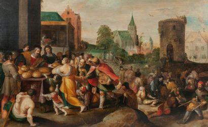 Frans II FRANCKEN dit le Jeune (Anvers 1581-id.; 1642)