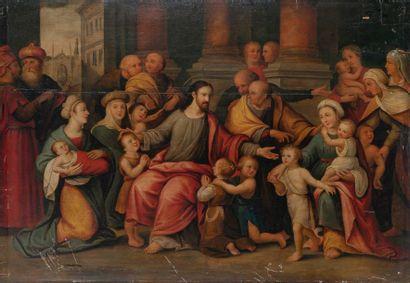 ECOLE FLAMANDE premier tiers du XVIIème siècle