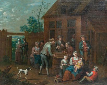 Jan-Baptist MONTEYN (Actif à Anvers vers 1695-1722)