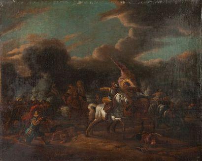 Attribué à Pieter van BLOEMEN (Anvers 1657-1720)