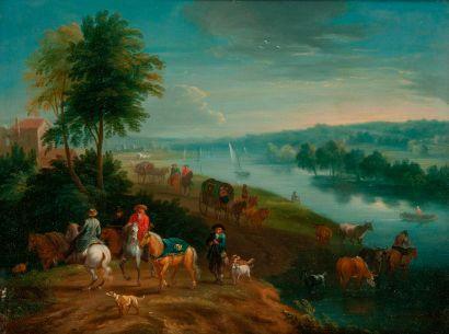 Attribué à Mathys SCHOEVAERDTS (c.1663-c.1703)