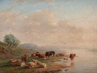Eugène VERBOECKOVEN (1798-99/1881)