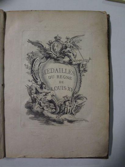 Médailles sous le règne de Louis XV  Recueil...