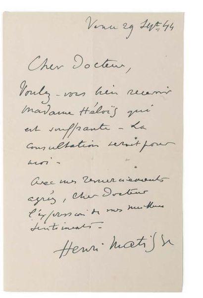 MATISSE Henri (1869-1954)
